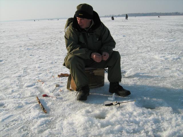 отчет о рыбалке в борке