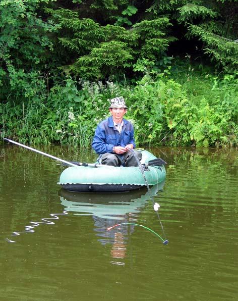 Летняя мормышка с лодки видео