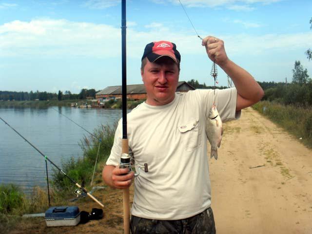рыбалка под клином
