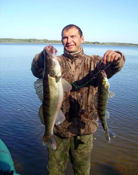 рыбалка на базе красновидово