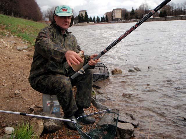 ловля болонкой на канале