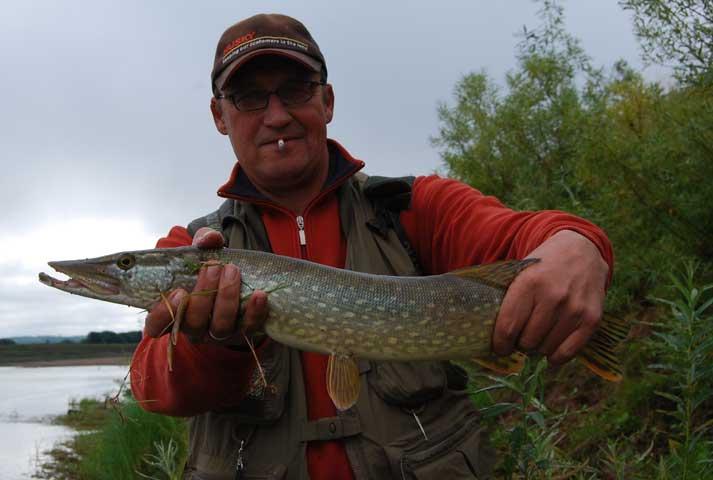 рыбалка на реке пезо