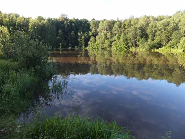 рыбалка озерецкое озеро